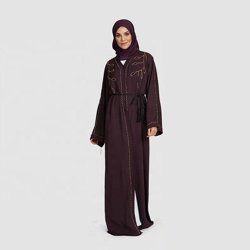 Ajman toptan kelebek De Mumbai Egypte elbise Femme cidde Khimar Abaya