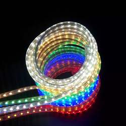 60LED/M 5050 Waterproof 220V Electricity Proof Decorative Background Wall Flexible Light Strip