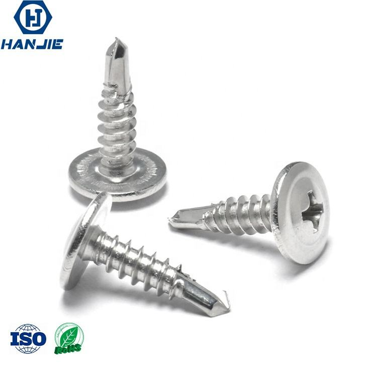 Stainless Steel Truss Head Phillips Driver Self Drilling Screws