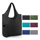 Washable ripstop cloth reusable groceries tote rpet foldable shopping bag