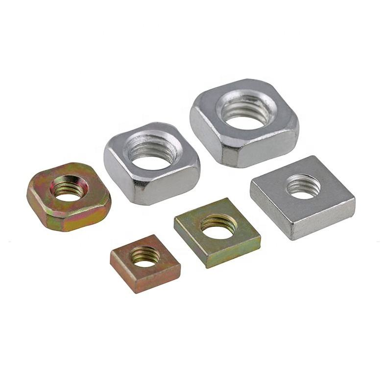 All Type Steel Square Thin Nuts DIN562 With High Precision