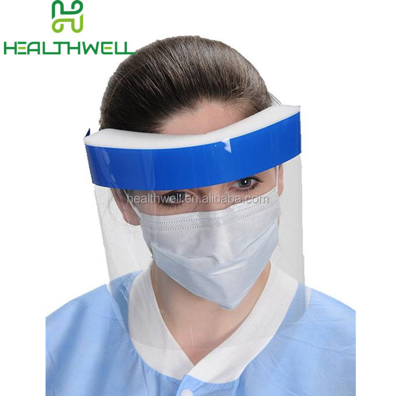 Medical คู่ Anti-FOG Face Splash SHIELD Visor
