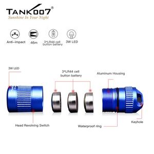 Tank007 promotion gifts small flashlight high power mini torch