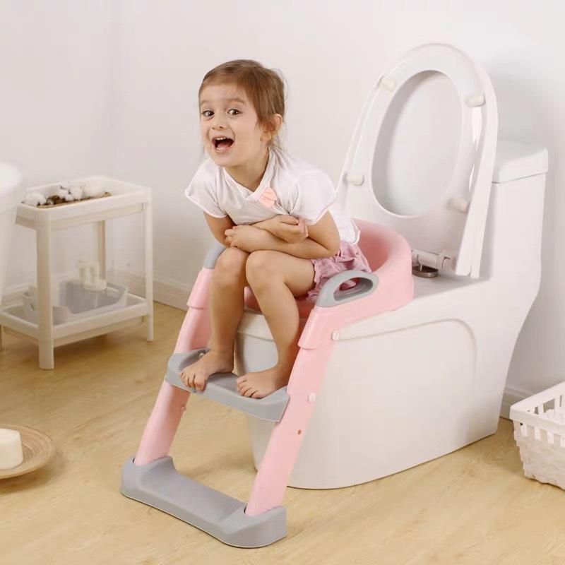 2020 Best Selling Baby Child Toddler Potty Training Toilet Seat/ Baby Kids Adjustable Training Potty Child Toilet step Ladder