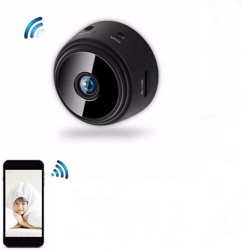 Small Camera Wireless Hidden with Night Motion Activated Small Hidden Spy Camera Mini Security Nanny