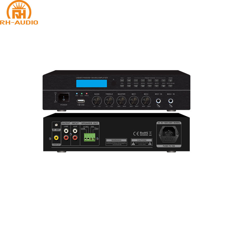 RH-<span class=keywords><strong>AUDIO</strong></span> USB Bluetooth Sinyal <span class=keywords><strong>Audio</strong></span> Amplifier dengan FM DAB