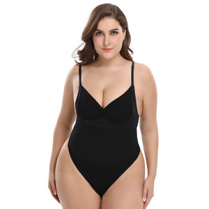 Ins Best Seller Sexy Mature Shapewear Tummy Control For Woman Spandex Sealmess Skims Post Partum Thong Slimming Bodysuit Shapers