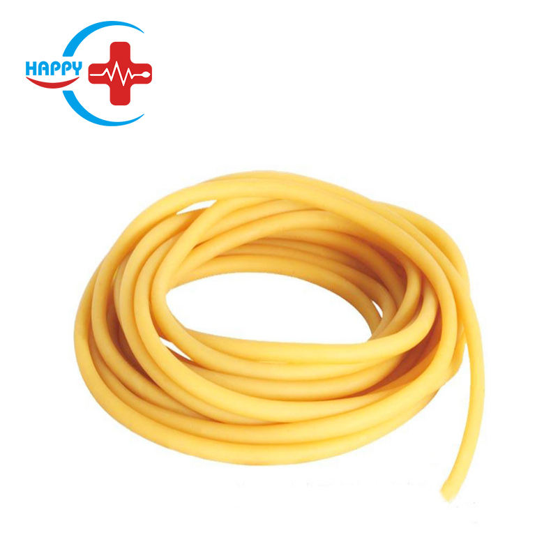 HC-J011 Happycare High Quality High-elastic first aid training plastic Medical Latex tourniquet