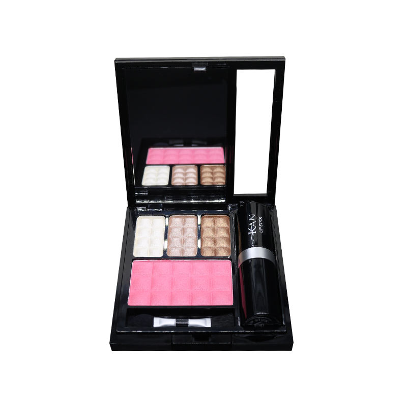 2020 Promotion pretend makeup set kits for girls make up toy cosmetics from oem factory directly sale eyeshadow+lipstick+ blush