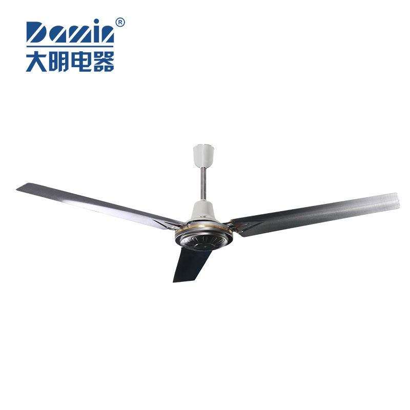 China Foshan Factory 3.8KG Motor 56 Inch Stainless Steel Electric Industrial Ceiling Fan With Good Quality