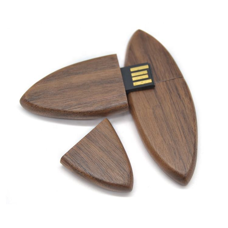 Wholesale Bulk Cheap Custom Logo Memory Stick Factory Manufacture Popular Surfboard Skate Unique Shaped Wood Usb Flash Drive