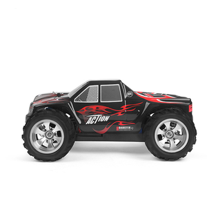 Wl oyuncaklar A979 Rc Rc Bigfoot kamyon Rc arabalar 1/18 4Wd 2.4Ghz