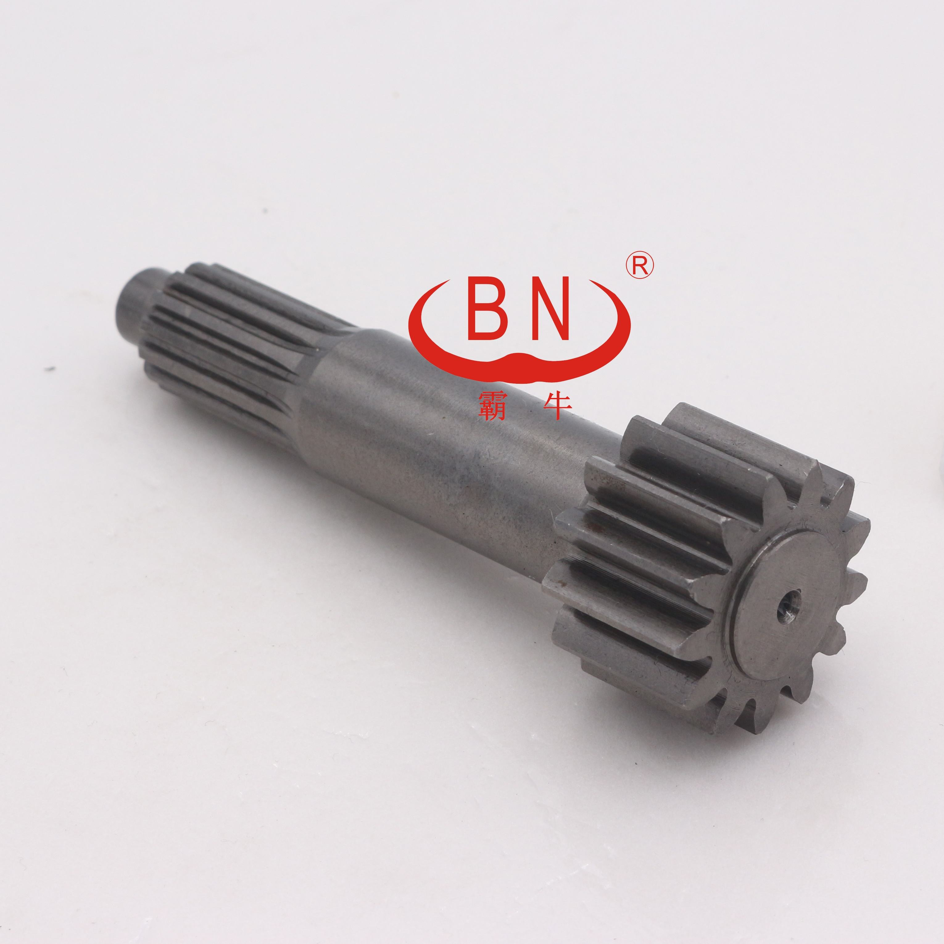 High quality final drive travel motor sun gear shaft for Yuchai YC85