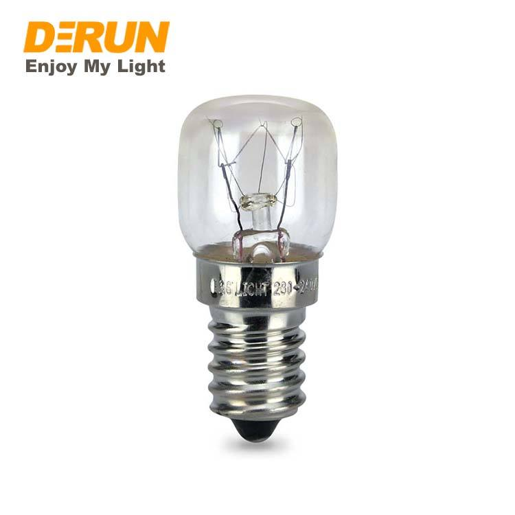 Clear Glass 110V 120V 220V 230V 240V 15W 20W Oven Incandescent Bulb ST26 , INC-MINI-E14