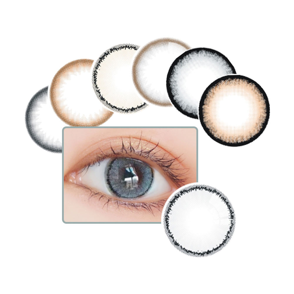 Wholesale Cheap 1 Year magic Looking sweety Eye contact lens