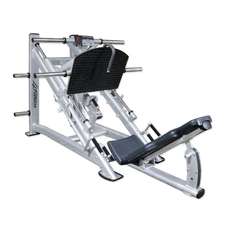 Life fitness import commercial gym exercise equipment compact hydraulic linear leg press bodybuilding machine for sale