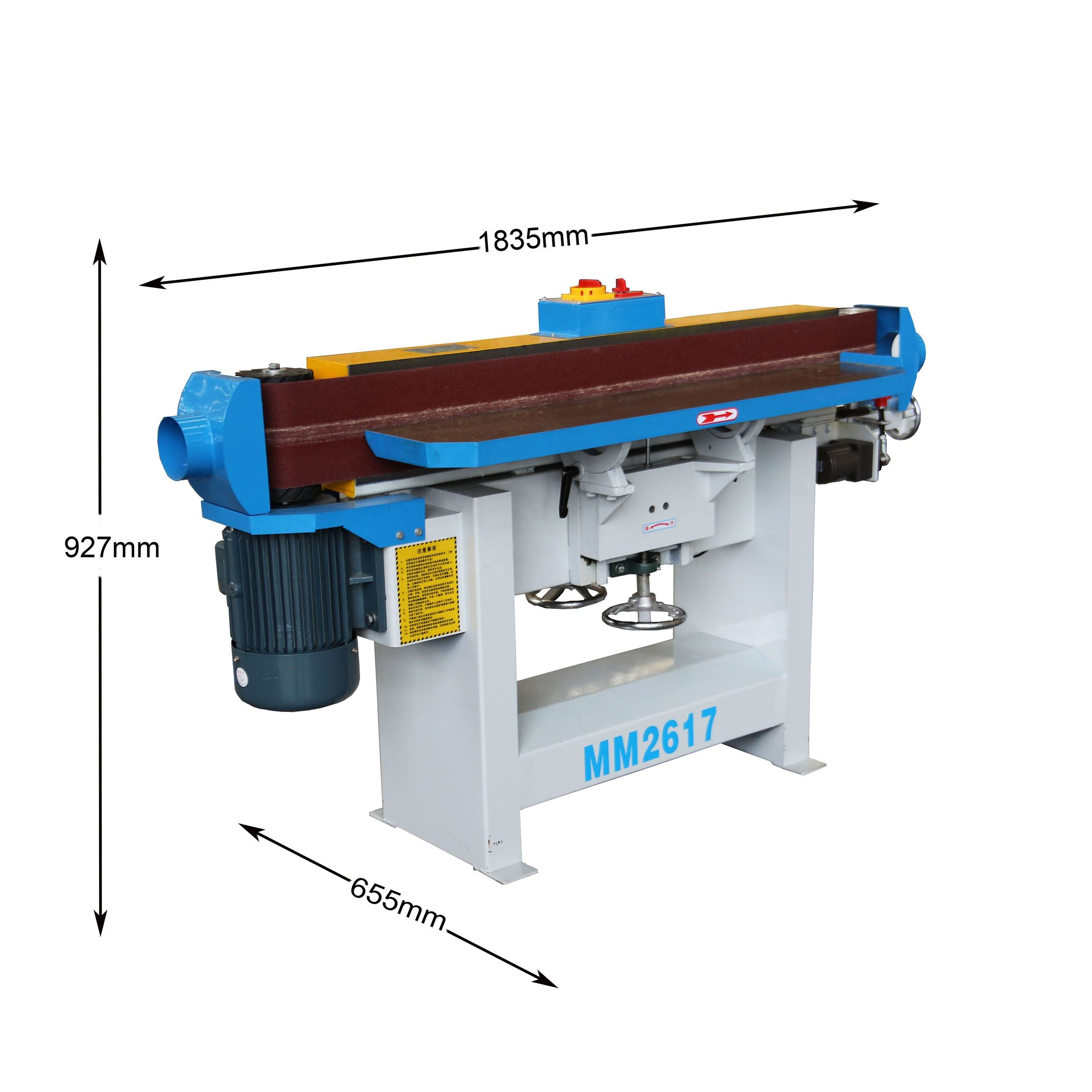 oscillating edge sanding machine for wood Belt sander for polishing curved wood