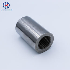Reinforcing Steel Bar Joint Couplers High Grade Rebar Coupler In China