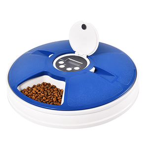 Petstar Smart 6 Separated Meal Trays Electronic Automatic Pet Cat Dog Bowl Timed Feeder