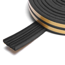 Wood door and window edge protection self adhesive rubber seal strip