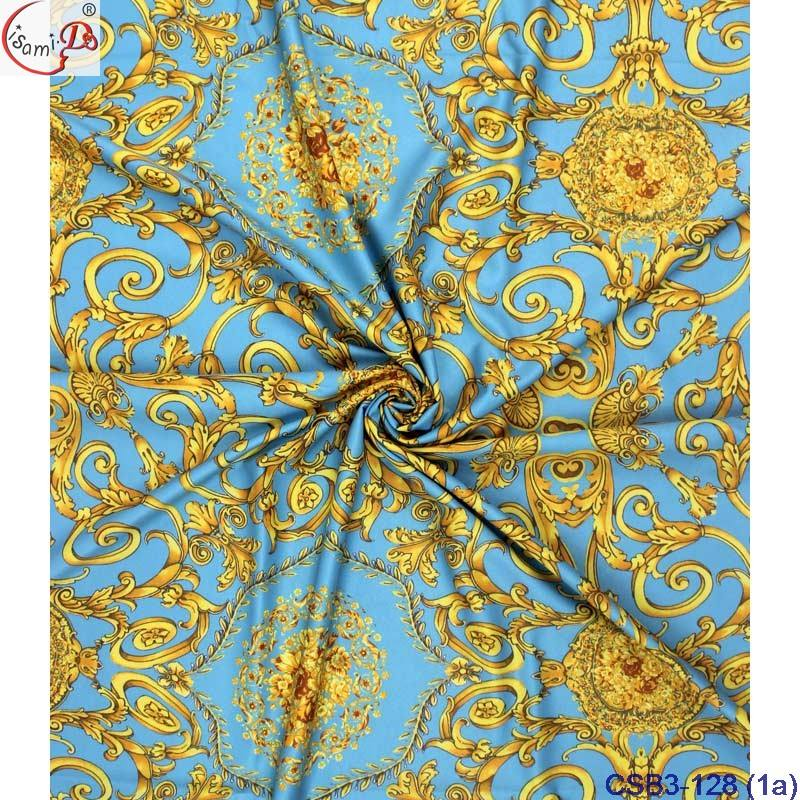 4yards chiffon +2yards silk design best selling beauty soft real silk fabric from chowleedee