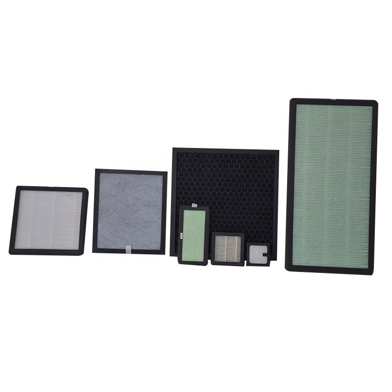 H11 H12 H13 H14 Customized Replacement Panel Activated Carbon True HEPA PM2.5 Air Purifier HEPA Filter