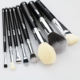 BEILI Pro black Makeup powder eye shadow eyebrow cosmetic tools contour brush beauty accessories travel makeup brush