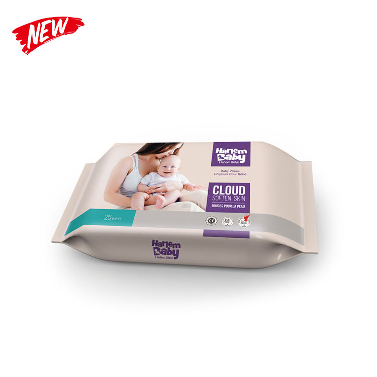 Wholesales individual flushable push water baby wipes wet wipes