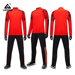 Wholesale Custom Design Plain Sportswear Design Your Own Half Zipper Track Suit Set