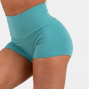 Custom fitness yoga girls shorts scrunch booty shorts for women