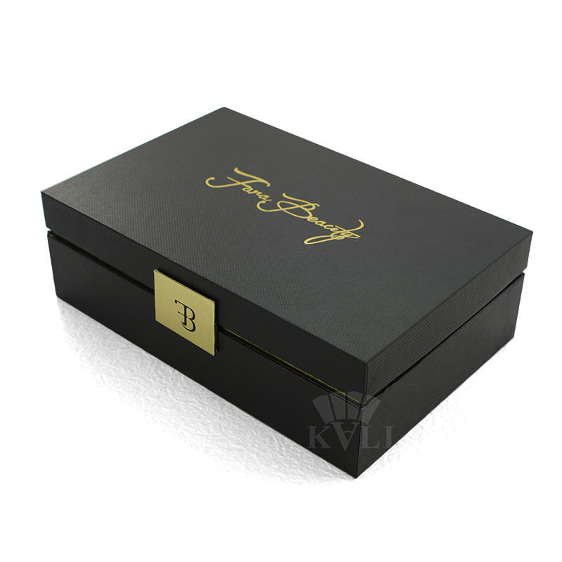 Wholesale cosmetic paper storage box beauty make up packing boxes custom logo