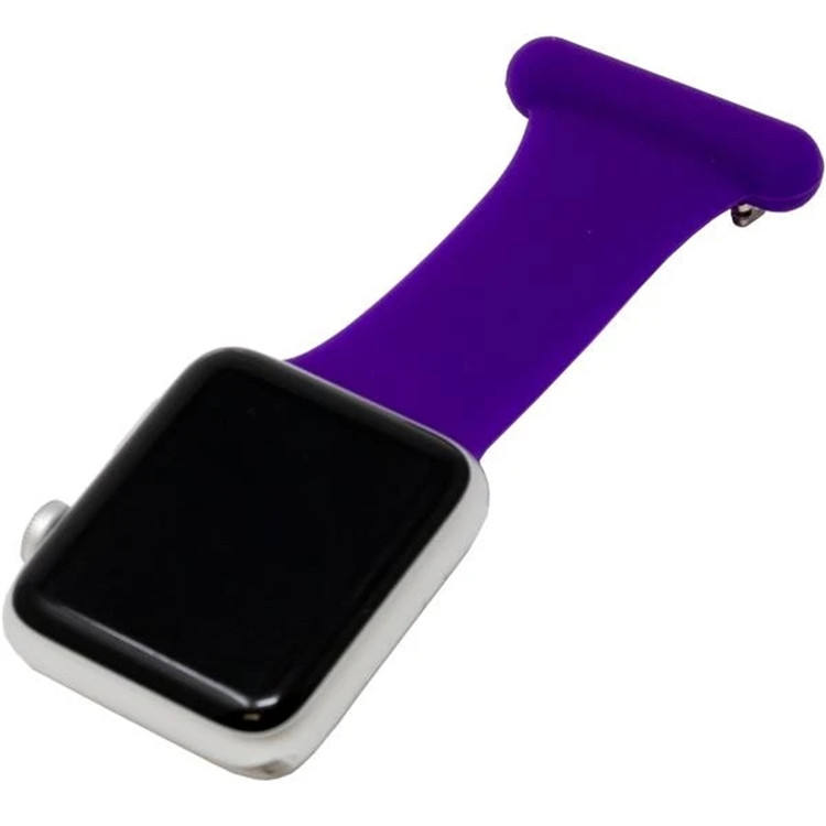 SILICONE WATCH FOBS BAND FOR APPLE WATCH