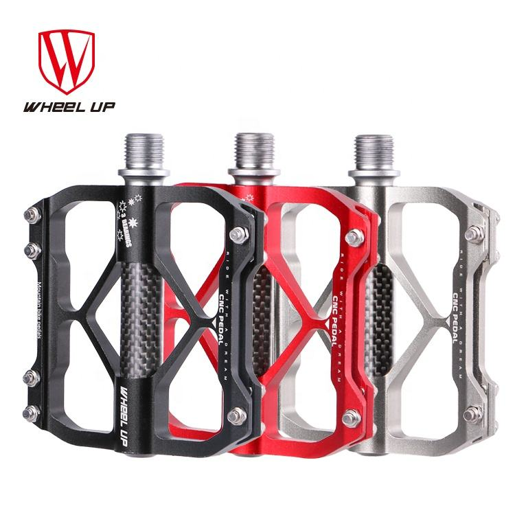 WHEEL UP Universal Use 3 Bearing Waterproof Lightweight Thicken MTB Aluminum Alloy Bicycle Bicicleta Pedal Quick Release