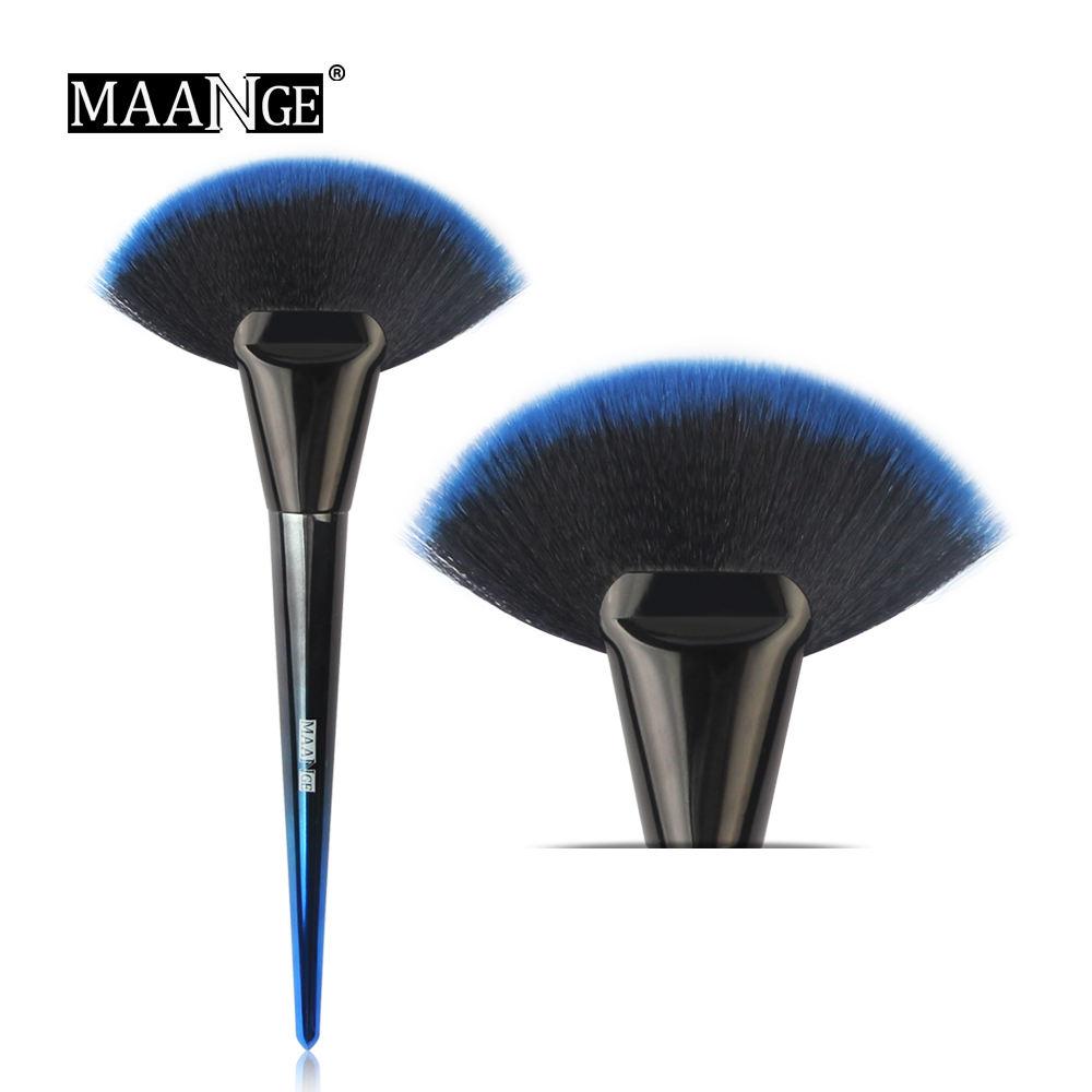 2020 latest design single big fan blush brush powder brush make up brushes