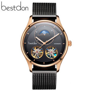 2020 Top Design Fashion Automatic Mens Watch moonphase watch