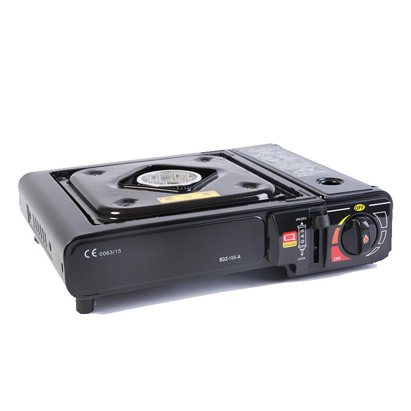 Camping al aire libre Mini butano GLP solo quemador barbacoa de Gas parrilla cocinas cocina de Gas de la estufa de Gas portátil