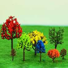 Beautiful architecture model making materials miniature planta model trees