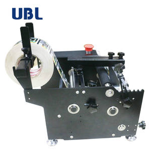 Ubl Fabriek Sticker Semi-automatische Handmatige Fles Label Printer Etikettering Machine