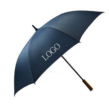 Promotion advertising wholesale custom print logo golf straight umbrella windproof