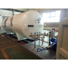 New Arrival Brand New Horizontal Cryogenic Liquid Tanks,Oxygen/Nitrogen/Argon/Natural Gas Storage Tank