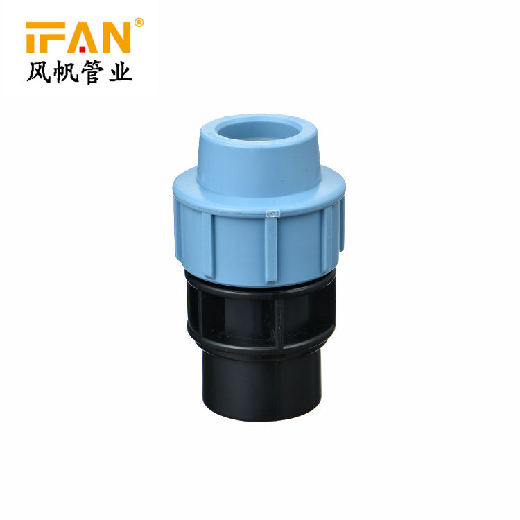 1/2 inch 4 inch Ifan new design durable superior quality hdpe pipe fitting socket female coupling