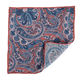 Pocket Printed Pocket Dacheng Purple Paisley Floral Printed Mens Linen Pocket Square Design Your Own Hankies