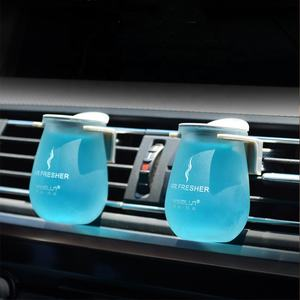 New Arrival good quality Essential oil solid perfume Auto Car Vent Clip Solid Air Freshener