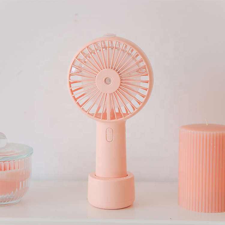 Battery Portable USB Water Spray Mist Fan Electric Rechargeable Handheld Mini Cooling Air Conditioner Humidifier Fan