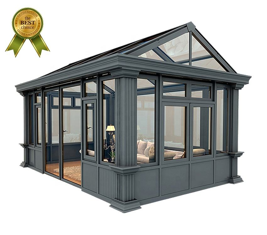 Customized winter garden free standing sunroom