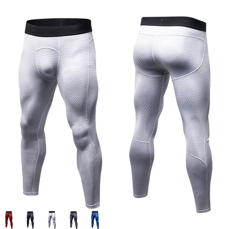 wholesale gym wear compression Leggings dry fit pants mens custom sport gym pants men