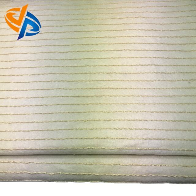 heat resistant aramid nonwoven fabric with cord
