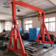 Crane Mounted Gantry Cranes China Rail Mounted 100Kg Small Goliath Gantry Crane For Sale