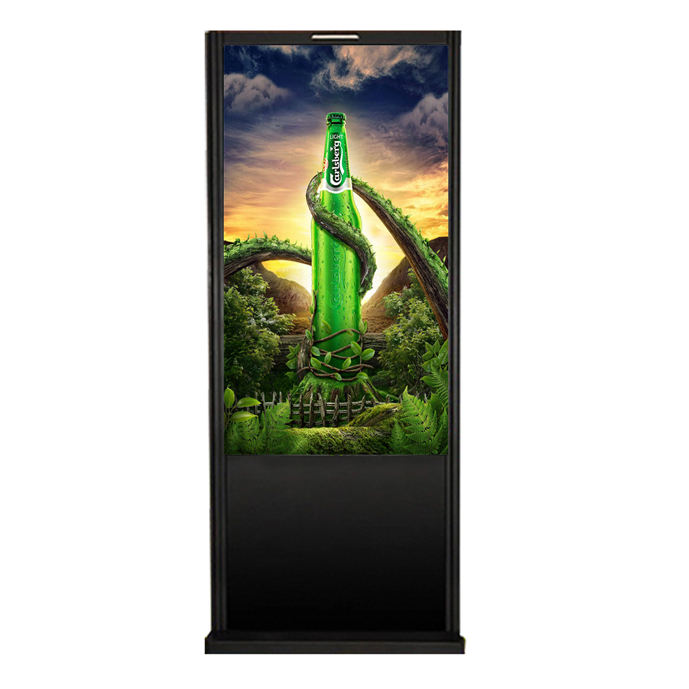 Free Standing Indoor Ad Player LCD Advertising Screen kiosk