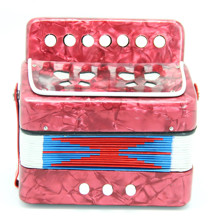 2 bass high quality mini toy accordion musical instruments for children